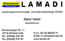 unser Sponsor Lamadi